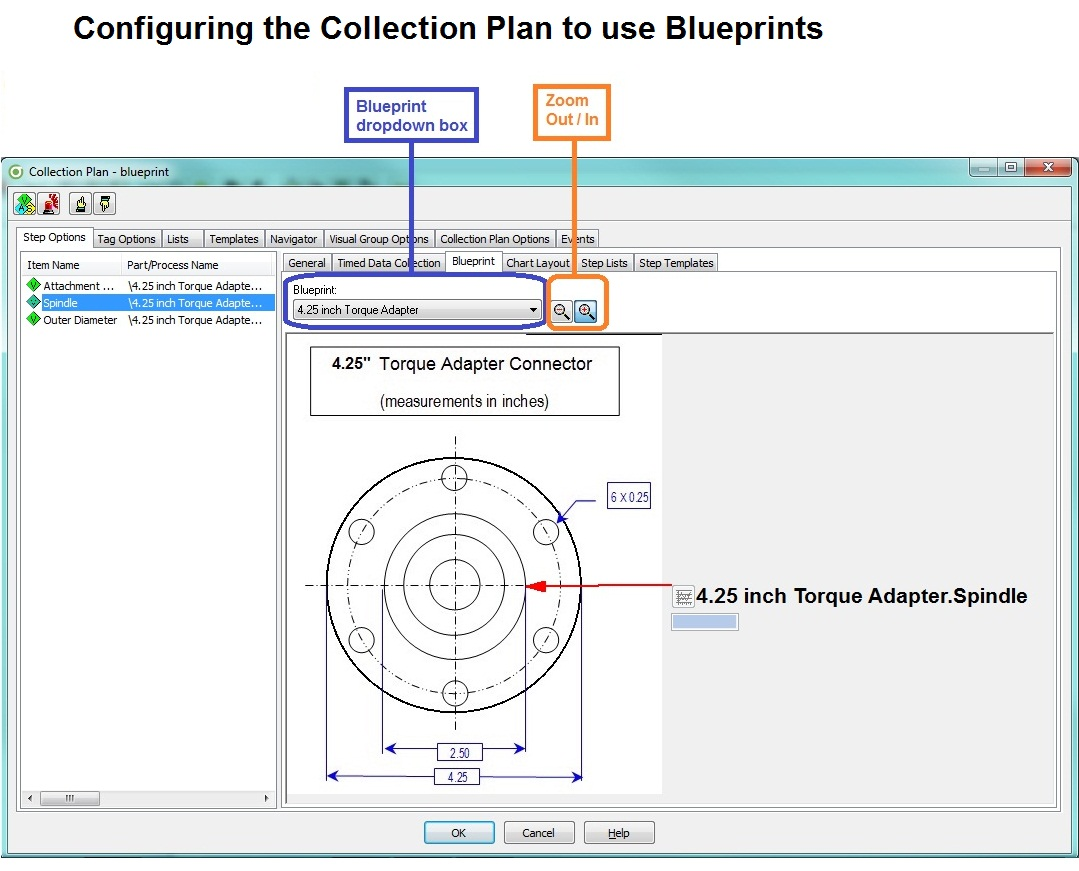 Configuring the Collection Plan