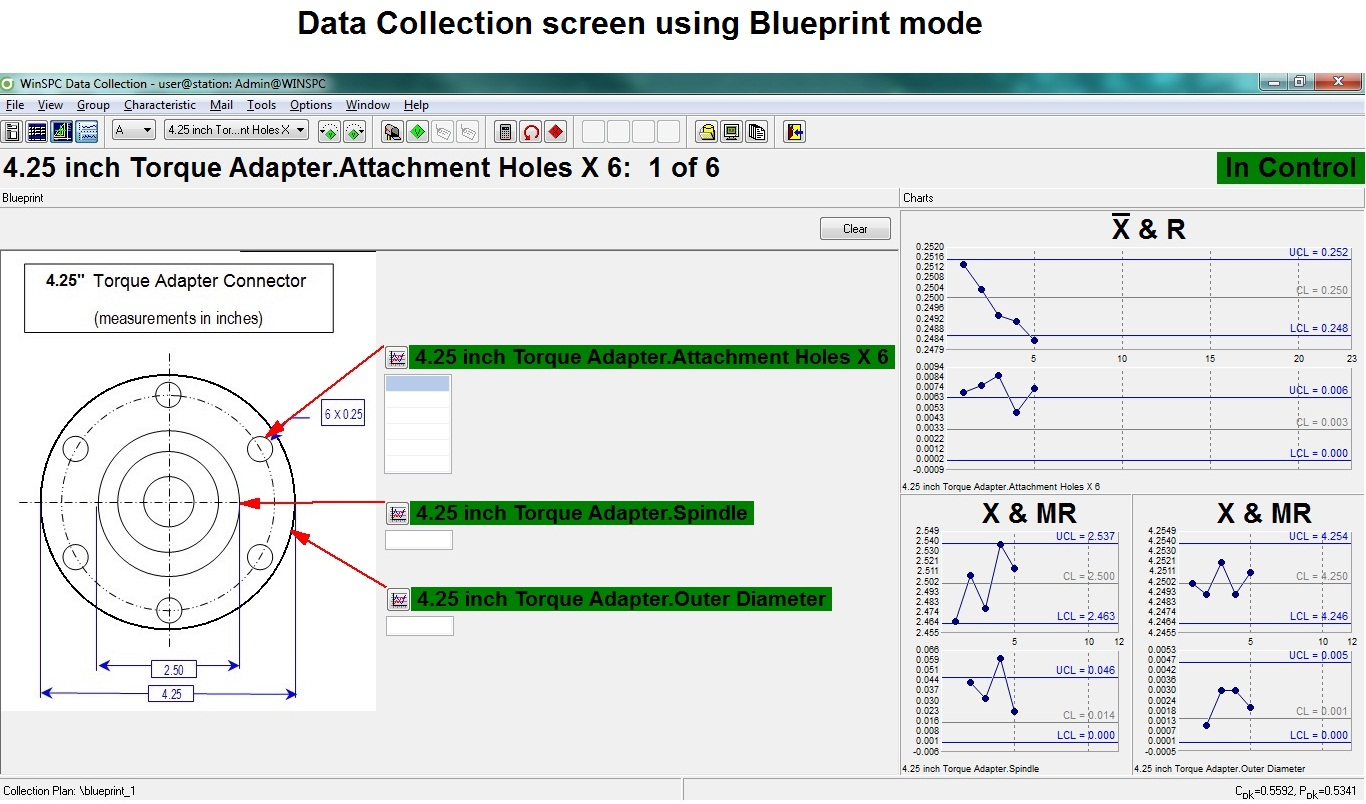 Data Collection using Blueprint mode